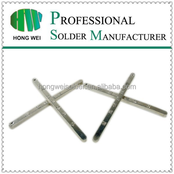 Lead free tin material low melting alloy solder