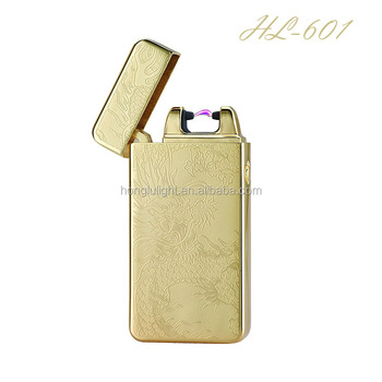 2017 New Style Single Arc Electric Lighter Usb Rechargeable White
