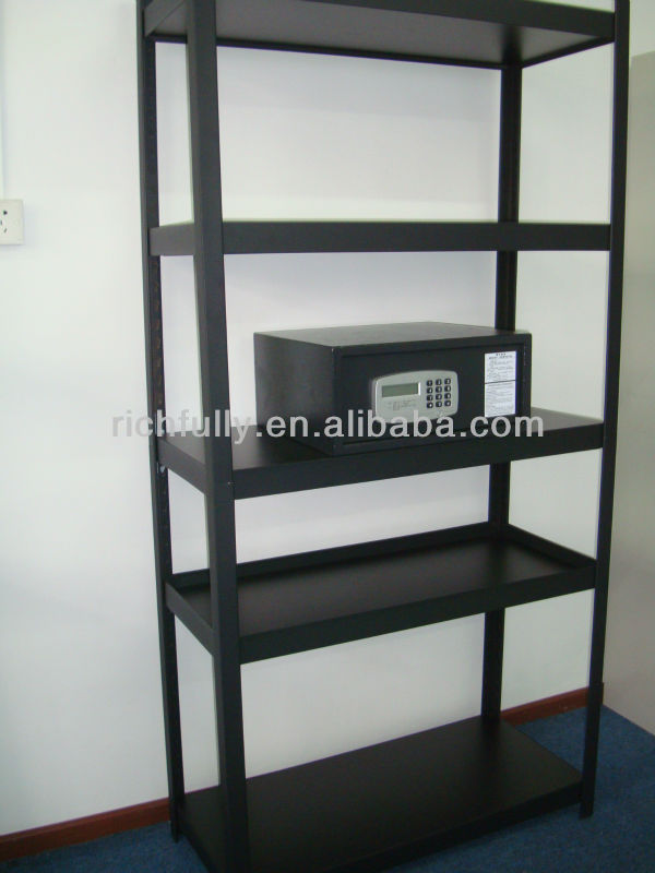 Low Price Matte Black Diy Slotted Angle Iron Rack By Professional Rack  Manufacturer - Buy Iron Rack,Angle Iron Rack,Slotted Angle Rack Product on
