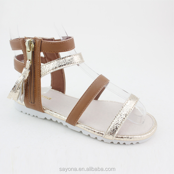 Professional China Latest New Design Girls Fancy Sandals For ...