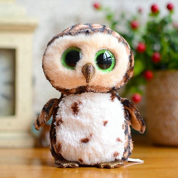 Oem Manufacturer Custom Stuffed Animal Big Eyes Plush Owl Buy