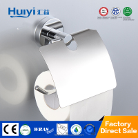 Popular design best sale brass metal free standing toilet paper holder for bathroom HY-07107-1