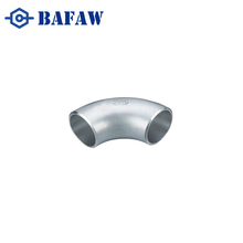 Pipe fitting stainless steel butt weld 45 degree elbow