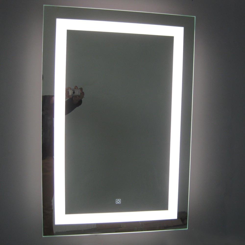 Ce Ul Cul Bathroom Wall Mounted Rectangular Defogger Pad Led Light ...