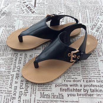 a83142f49 2018 Hot Sale Indian African Women Shoes Slide Flat Pu Sandal - Buy ...