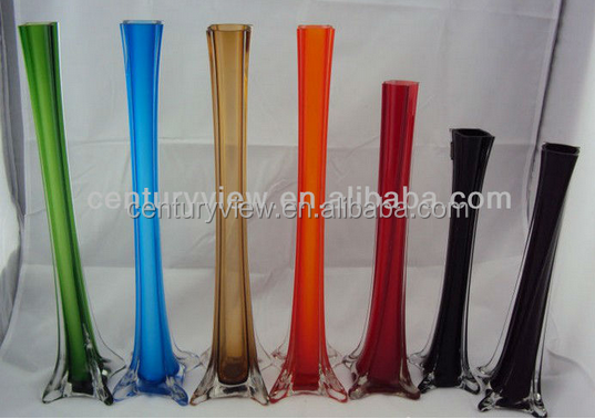 Blue Glass Eiffel Tower Vase Wholesale Home Suppliers Alibaba
