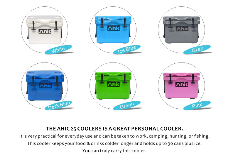 BBQ tools storage box, industrial food storage container, AHIC25L (26.5QT) rotomolded ice Cooler Box