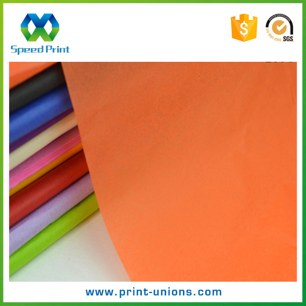Custom printed free sample color gift packaging tissue wrapping paper
