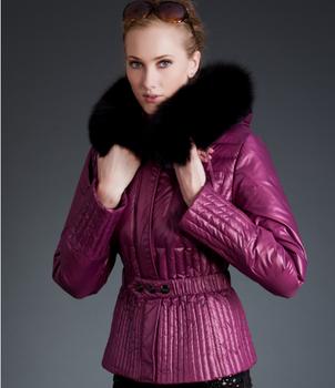 Korea Purple Women Fashion Short Duck Down Winter Coats Buy Korea