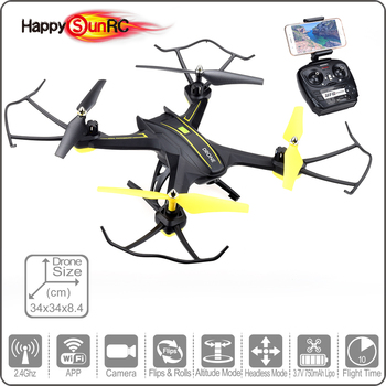 2017 Air Press Altitude RC Drone Flight Plan Route Quadcopter with WIFI HD Camera S6