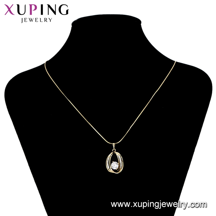 34528 xuping goldplated charms, african 14k gold plated gemstone pendant