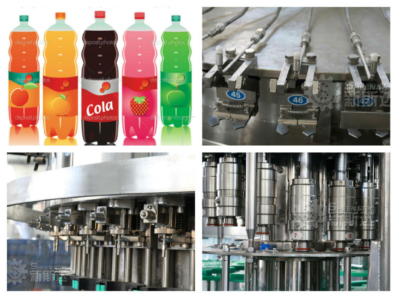 Gas carbonated drink making machine
