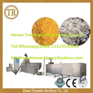 golden rice production line Artificial Rice processing line