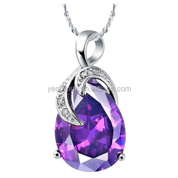 New Style elegant shape austrian crystal necklace
