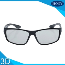 Make Plastic Passive 3D Glasses Circular Polarized glasses for Sony, LG,Smasung 3D Normal TVs&RealD 3D Cinemas Movies