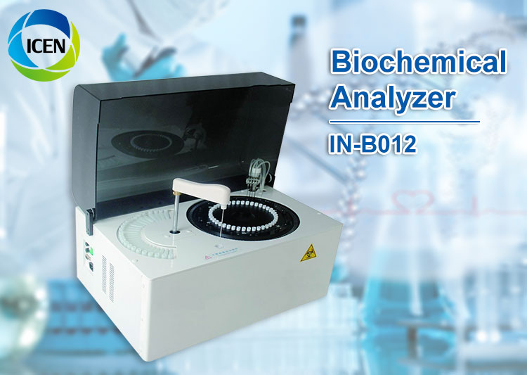 IN-B012 Clinical laboratory fully-automatic mindray olympus animal veterinary and human Dry blood chemistry analyzer price