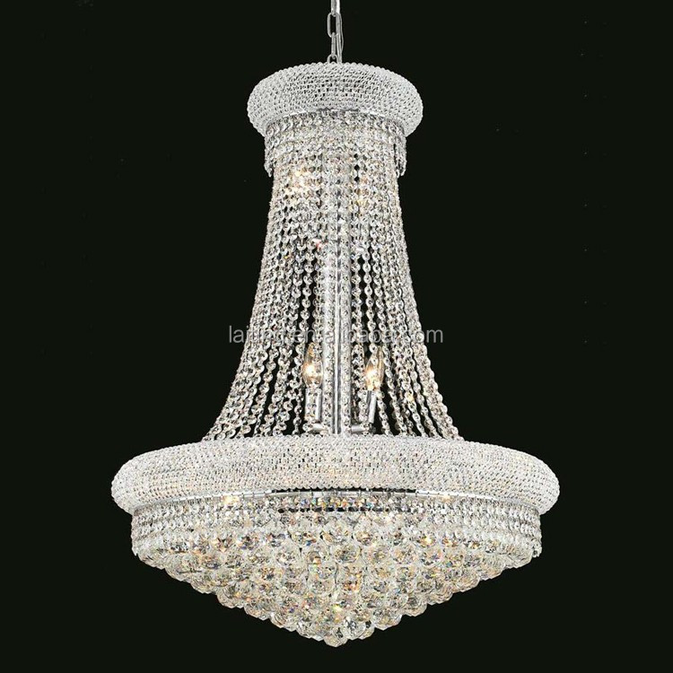 Luxury Small Crystal Empire Living room Chandelier Light Gold Pendant Lamp 71006