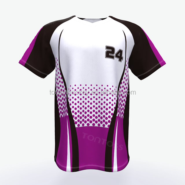 sublimation team baseball training jerseys