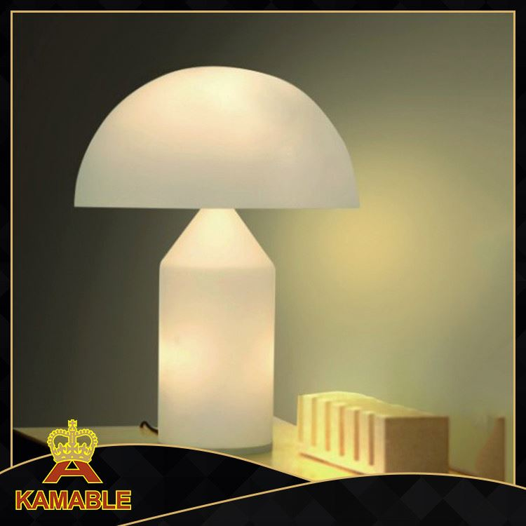 European Traditional Glass Table Lamp Antique Style Lighting