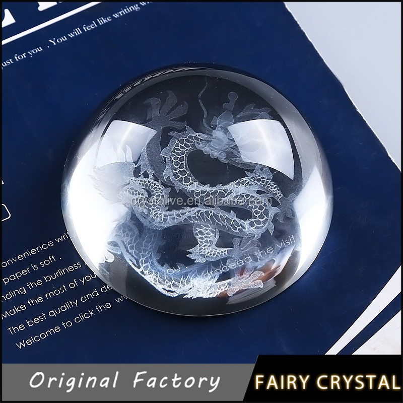 Crystal Glass Ball Paperweight, View crystal paperweight, FAIRY Product  Details from Pujiang Feiyi Crystal Craft Co , Ltd  on Alibaba com