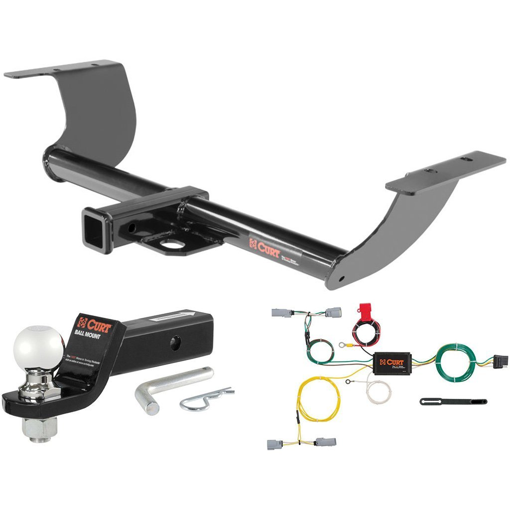 "CURT Class 3 Hitch Tow Package with 2-5/16"" Ball for 2015-2016 Dodge Challenger"