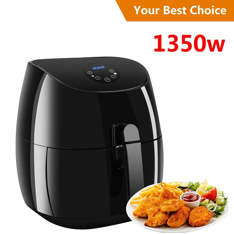 Air Fryer XL 3.7 QT,Electric Air Fryer Non-stick Multi-Cooker Oilless Cooker,1350W (3.5L Air Fryer)