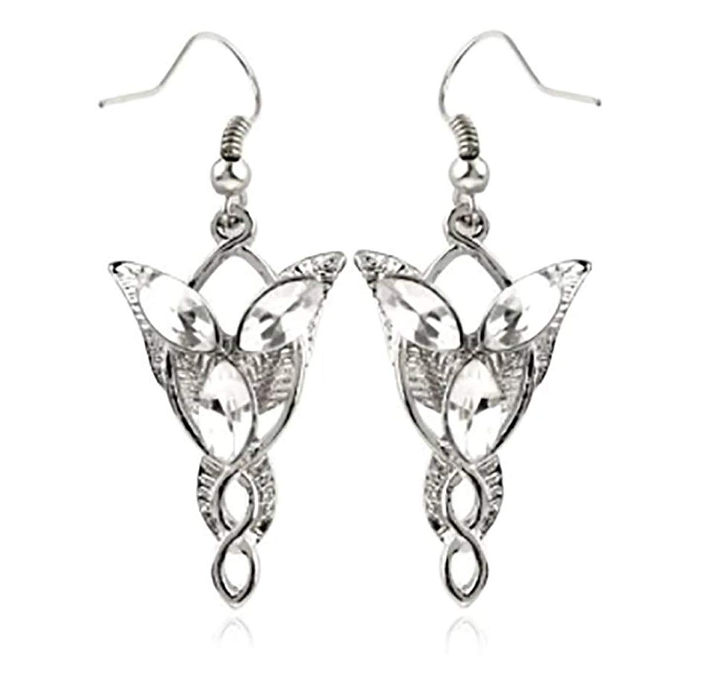Tiebar Tie Clasp Set of 2 Wedding Superhero Logo w//Gift Box Outlander Brand Outlander Lord of the Rings Elven Leaf /& Evenstar
