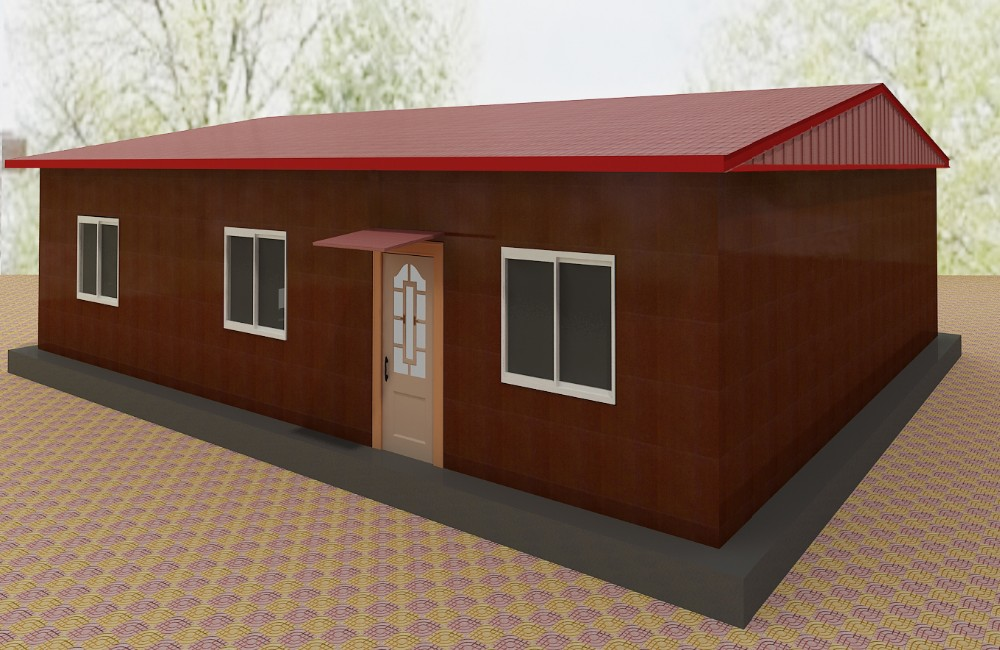 Fast assembly pre-made movable prefab house for Sale