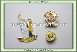 2013 new pin metal badges/metal lapel pin for promotion