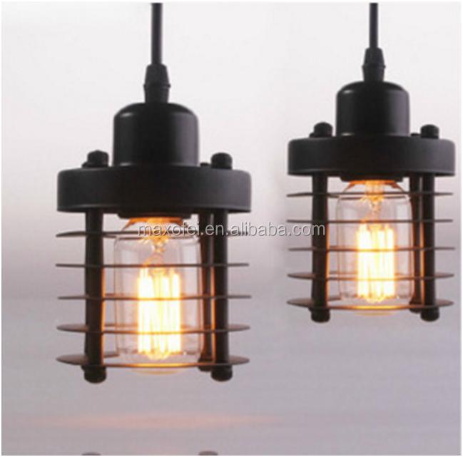 Loft retro diy industriële waterpijp hanglampen keuken metalen ...