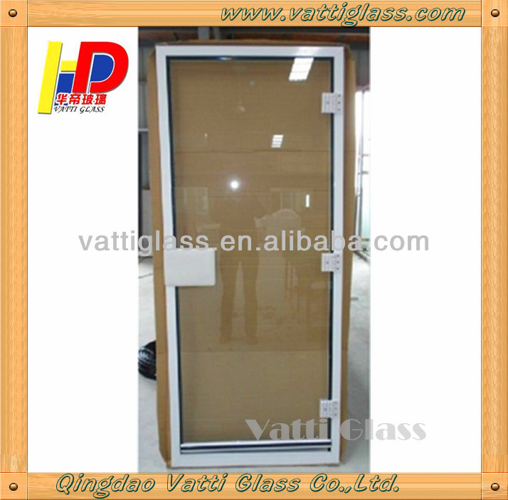Fashionable Sauna Glass Door In 8mm Thickness Durable Enough For The