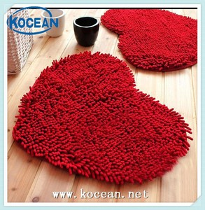 Bathroom Door Microfibr Chenille Mat