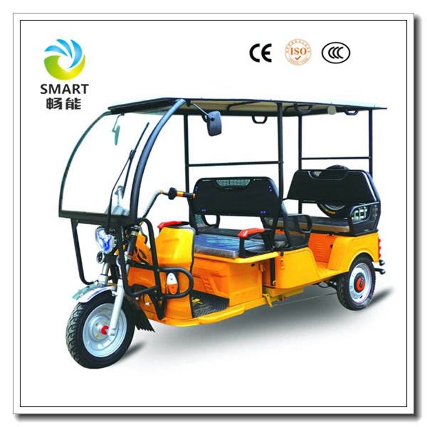 Rain cover battery e rickshaw for sale bajaj adult closed tricycle triciclo kids baby tricycle