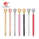 Office supplies promotional metal twist ball pen slim crown cross ballpoint