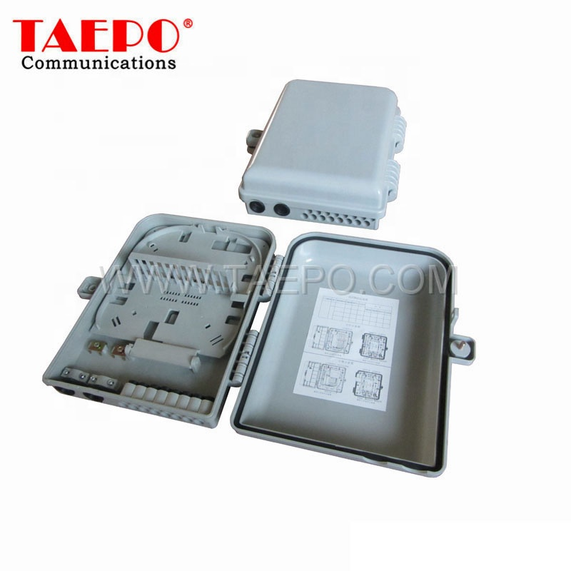 SC plastic housing 16 core outdoor FTTH Fiber opitc distribution box telecommunication equipment