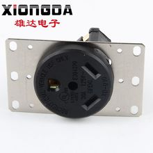 New design hot sale 30A 125V NEMA RV5-30R american electrical plug wall mounted universal socket