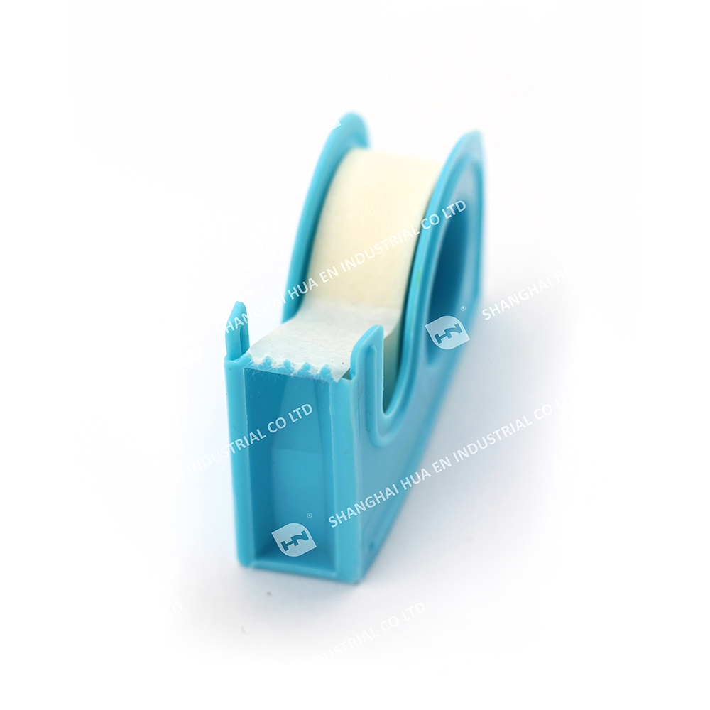 Medical Micropore tape dispenser non-woven surgical paper tape with cutter