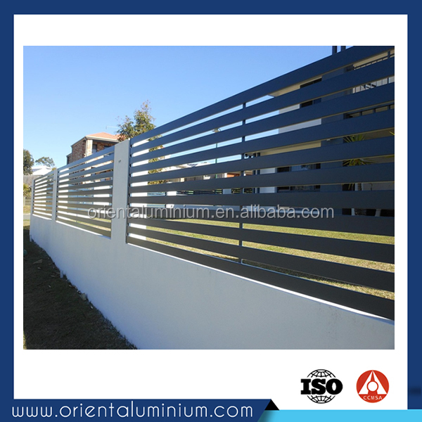 metal fence for house/garden/swimming pool aluminium