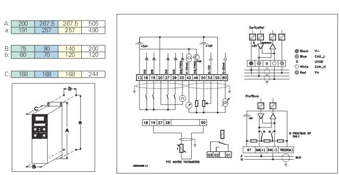 Danfoss Vfd Wiring Diagram - Diagrams online on