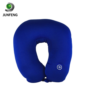 China battery operated u shape massage pillow of neck kneading