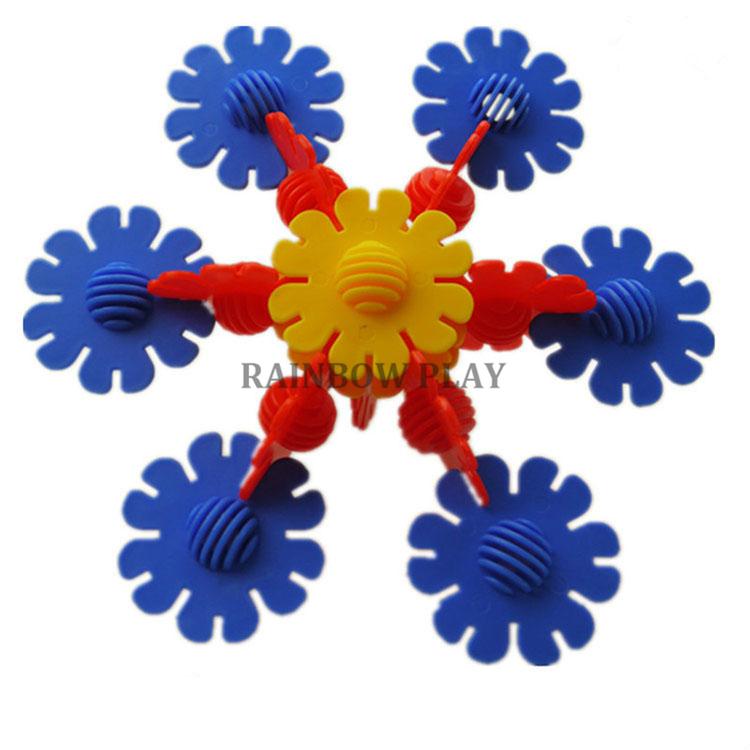 Beredar Educational Puzzle Mainan Tipe Warna Warni Bunga Matahari