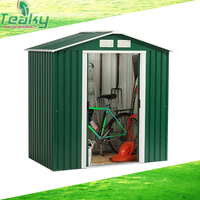 Apex metal garden shed garden storage shed metal movable house