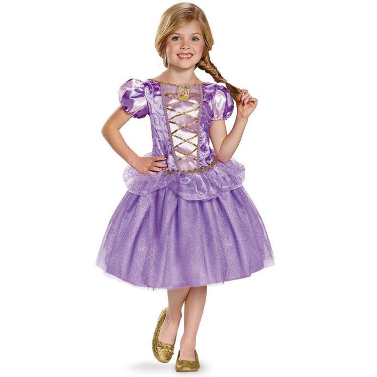 Princesa Hadas Rapunzel Chica Lujo vestido Fiesta Niñas Buy Cuento Las La Cosplay Vestido Rapunzel De Para Traje Okn80wP