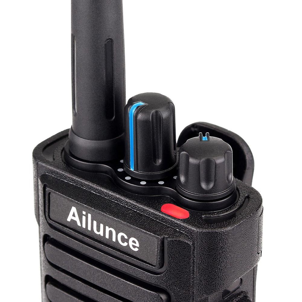 HD1 2 Way Radio Komunikasi Transceiver 8 W Dual Band Radio UHF VHF Digital Dienkripsi Walkie Talkie