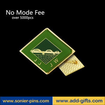 sonier-pins No MOQ request five star lapel pin gold antique enamel lapel pins