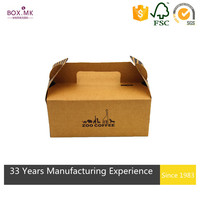 Whole Sale Rectangle Kraft Paper Best Quality Cake Box Packaging