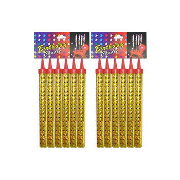 Wholesale Party Decoration Indoor Sparkler Candles Cold China Fireworks Birthday Candle