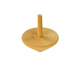 FQ brand wholesale educational Handcraft Wooden gyro spinning top toys