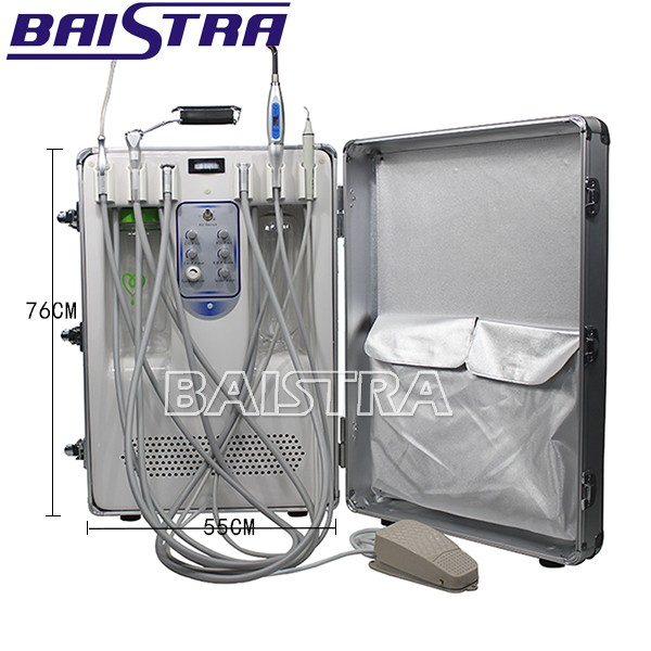 2017 Hot Sale Portable Dental Delivery Unit/ Dental Turbine Unit with Air Compressor
