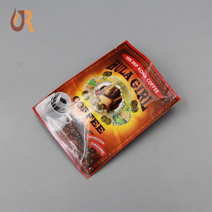 eco friendly food packaging bags 3side seal coffee packaging pouch sachet